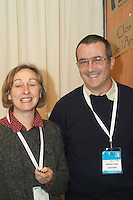 Dominque Mestre and Xavier Remon, owners winemakers. Domaine La Rune, Corbieres, Languedoc, France.
