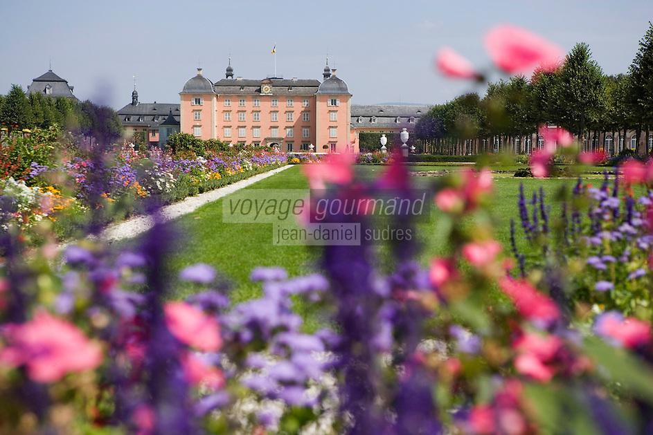 Europe/Allemagne/Bade-Würrtemberg/ env d'Heidelberg /Schwetzingen: Europe/Allemagne/Bade-Würrtemberg/ env d'Heidelberg /Schwetzingen: le Château et son jardin