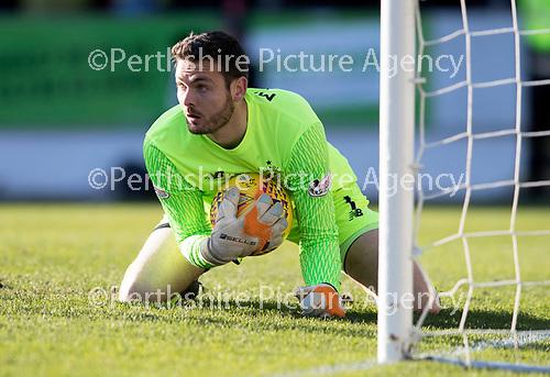 St Johnstone v Celtic…04.11.17…  McDiarmid Park…  SPFL<br />Craig Gordon<br />Picture by Graeme Hart. <br />Copyright Perthshire Picture Agency<br />Tel: 01738 623350  Mobile: 07990 594431