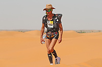 4th October 2021; Tisserdimine to Kourci Dial Zaid;  Marathon des Sables, stage 2 of  a six-day, 251 km ultramarathon, which is approximately the distance of six regular marathons. The longest single stage is 91 km long. This multiday race is held every year in southern Morocco, in the Sahara Desert. Bruno Goasdoue (FRA)