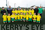 The Kerry U11's who played Limerick in Christy Leahy Park on Sunday