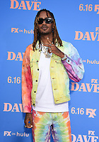 """LOS ANGELES, CA - JUNE 10: GaTa attends the Season Two Red Carpet event for FXX's """"DAVE"""" at the Greek Theater on June 10, 2021 in Los Angeles, California. (Photo by Frank Micelotta/FXX/PictureGroup)"""