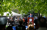 Nevada Assemblyman PK O'Neill, R-Carson City, speaks at the annual Nevada Law Enforcement Officers Memorial ceremony, in Carson City Nev., on Thursday, May 6, 2021.<br />Photo by Cathleen Allison