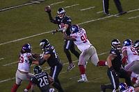 quarterback Carson Wentz (11) of the Philadelphia Eagles gegen defensive end Dalvin Tomlinson (94) of the New York Giants - 09.12.2019: Philadelphia Eagles vs. New York Giants, Monday Night Football, Lincoln Financial Field