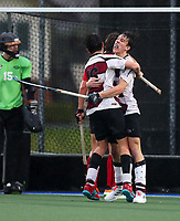 North Harbour 1 v Canterbury 1 gold medal match. National Men's Under-18 Hockey Tournament finals day at Gallagher Hockey Centre in Hamilton, New Zealand on Saturday, 17 July 2021. Photo: Simon Watts / bwmedia.co.nz
