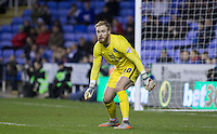 Goalkeeper Jason Steele of Blackburn Rovers during the Sky Bet Championship match between Reading and Blackburn Rovers at the Madejski Stadium, Reading, England on 20 December 2015. Photo by Andy Rowland / PRiME Media Images