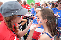 HARRISON, NJ - Saturday May 30, 2015: The United States Women's National Team takes on Korea Republic at Red Bull Arena as a send-off to FIFA Women's World Cup Canada 2015.