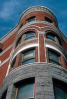 San Diego: Keating Building, Detail.  Photo '81.