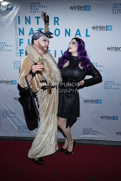 Beatrix Devine attends the 10th Annual Winter Film Awards International Film Festival Gala on October 2, 2021 at 230 Fift Avenue in New York City.