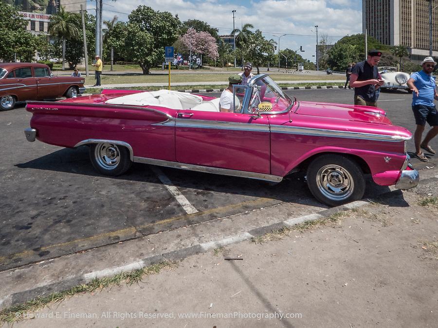 1958 Ford  near Jose Marti Memorial