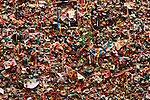 Retro Images of Gum Wall Pike Place Market