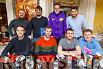 Enjoying the evening in the Brogue Inn on Friday.<br /> Seated l to r: Eoin Doody, Michael Griffin, Kieran O'Donovan and Eoghain Sheehy.<br /> Back l to r: Sean Herlihey, Dylan Brazil, Chris Horan and Jordan Murphy.