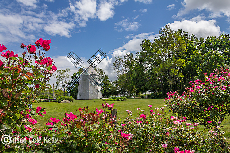 The Jonathan Young Windmill in Orleans, Cape Cod, Massachusetts, USA