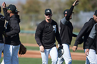 Chicago White Sox outfielder Adam Engel (15) during Spring Training Camp on February 25, 2018 at Camelback Ranch in Glendale, Arizona. (Zachary Lucy/Four Seam Images)