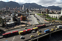 BOGOTA -COLOMBIA, 22-ABRIL-2014. Dia sin carro en la capital / Day without cars in the capital . Photo:VizzorImage / Felipe Caicedo / Staff