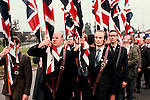 THE NATIONAL FRONT. WALSALL WEST MIDLANDS ANTI IMMIGRATION MARCH,