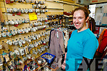 Helena Houlihan in the Oxfam shop in Tralee on Monday as they hope to recruit new volunteers.