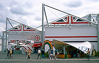 Vancouver: EXPO '86--British Pavilion, Standard Modules. Photo '86.