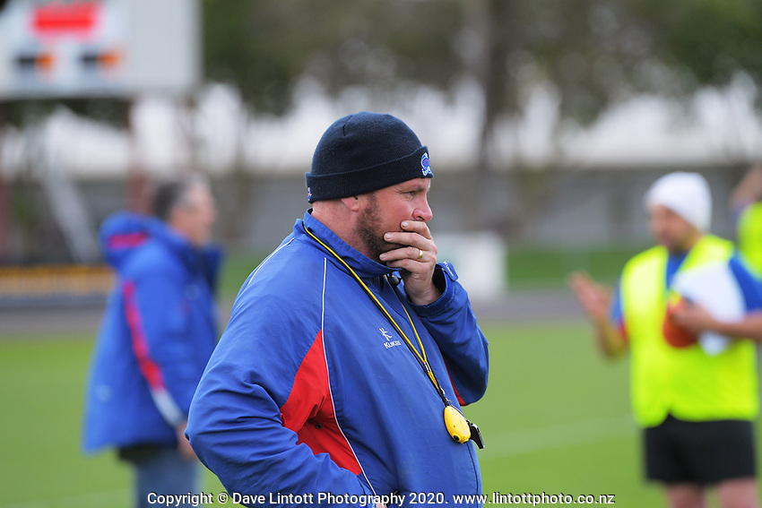 Horowhenua Kapiti coach Chris Wilton before the Heartland Championship and PGG Wrightson Cup rugby match between Horowhenua-Kapiti and Wairarapa Bush at Levin Domain in Levin, New Zealand on Saturday, 8 August 2020. Photo: Dave Lintott / lintottphoto.co.nz
