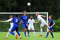 Arnor Gudjohnsen of Swansea City in action during the Premier League u18 match between Swansea City AFC and Chelsea FC at Landore Training Ground, Wales, UK. Tuesday 11th September 2018