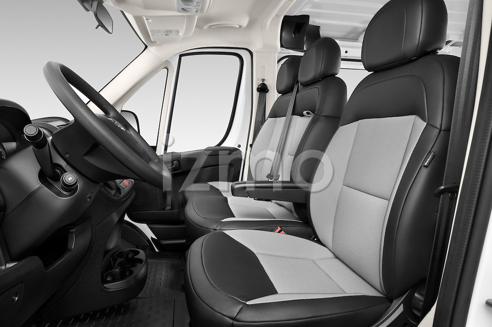 Front seat view of a 2015 Ram Promaster 1500 136 Wb Low Roof 4 Door Passenger Van 2WD Front Seat car photos