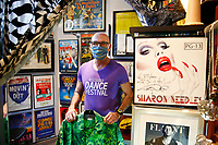 Richard Parsakian, owner of Eon's Fashion Antique, poses for a portrait inside of his retail store in the Shadyside neighborhood on Thursday May 21, 2020 in Pittsburgh, Pennsylvania. (Photo by Jared Wickerham/Pittsburgh City Paper)