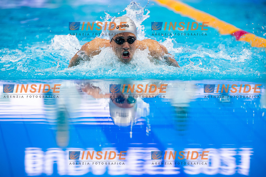 Krasniqi Arti KOS<br /> Swimming - 200m individual medley men preliminary<br /> XXXV LEN European Aquatic Championships<br /> Duna Arena<br /> Budapest  - Hungary  19/5/2021<br /> Photo Giorgio Perottino / Deepbluemedia / Insidefoto