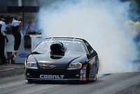 Jul, 10, 2011; Joliet, IL, USA: NHRA pro stock driver Erica Enders during the Route 66 Nationals at Route 66 Raceway. Mandatory Credit: Mark J. Rebilas-