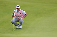 200719 | The 148th Open - Day 3<br /> <br /> Tyrrell Hatton of England on the 2nd during the 148th Open Championship at Royal Portrush Golf Club, County Antrim, Northern Ireland. Photo by John Dickson - DICKSONDIGITAL
