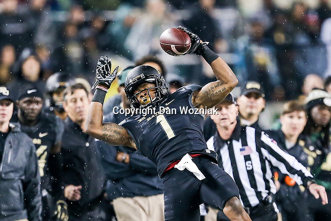 Baylor Bears wide receiver Corey Coleman (1) in action during the game between the Oklahoma Sooners  and the Baylor Bears at the McLane Stadium in Waco, Texas.