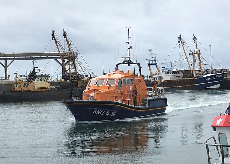 Kilmore Quay RNLI all-weather Tamar class relief lifeboat Victor Freeman