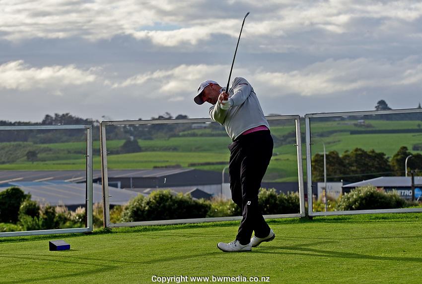 Micheal Hendry during the Jennian Homes Charles Tour Taranaki Open, New Plymouth Golf Course, New Plymouth, Thursday 15 October 2020. Photo: John Velvin/www.bwmedia.co.nz