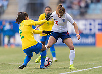 Chester, PA - February 27, 2019:  England defeated Brazil 2-1 during the SheBelieves Cup opener at Talen Energy Stadium.