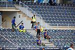 Fernando Vazquez head coach (RC Deportivo de la Coruna) during La Liga Smartbank match round 39 between Malaga CF and RC Deportivo de la Coruna at La Rosaleda Stadium in Malaga, Spain, as the season resumed following a three-month absence due to the novel coronavirus COVID-19 pandemic. Jul 03, 2020. (ALTERPHOTOS/Manu R.B.)