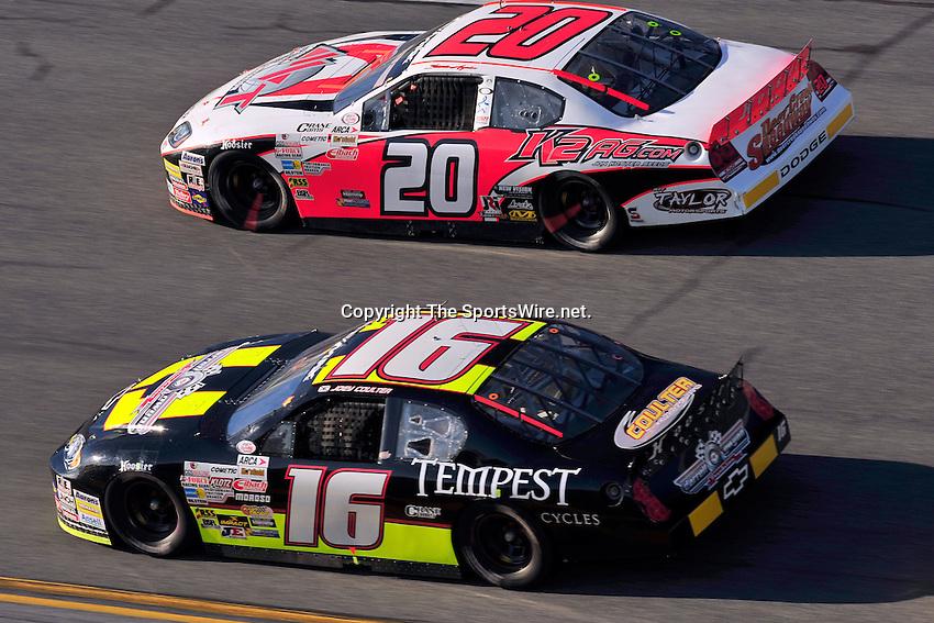 Feb 7, 2009; 4:50:07 PM; Daytona Beach, FL, USA; ARCA Remax Series Event 1 for the Lucas Oil Slick Mist 200 at Daytona International Speedway.  Mandatory Credit: (thesportswire.net)