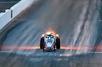 Feb 21, 2020; Chandler, Arizona, USA; NHRA jet dragster driver XXXX during qualifying for the Arizona Nationals at Wild Horse Pass Motorsports Park. Mandatory Credit: Mark J. Rebilas-USA TODAY Sports