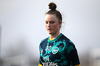 Ruby Mace of Arsenal during West Ham United Women vs Arsenal Women, Women's FA Cup Football at Rush Green Stadium on 26th January 2020