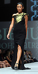 A model wears Bibhu Mohapatra at the fourth night of Fashion Houston at the Wortham Theater Wednesday Oct. 12,2011.(Dave Rossman/For the Chronicle)