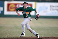 Siena Saints Vincent Citro #6 during a game vs Stetson Hatters at Melching Field in De Land, Florida;  March 15, 2011.  Siena defeated Stetson 6-4.  Photo By Mike Janes/Four Seam Images