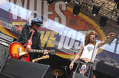 New York Dolls; Sylvain Sylvain; David Johansen; Sami Yaffa .Photo Credit: Eddie Malluk/Atlas Icons.com