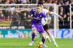 Toni Kroos of Real Madrid battles for the ball with Enzo Nicolas Perez of Valencia CF during their La Liga match between Valencia CF and Real Madrid at the Estadio de Mestalla on 22 February 2017 in Valencia, Spain. Photo by Maria Jose Segovia Carmona / Power Sport Images