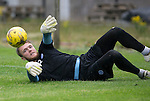 St Johnstone Training…22.07.16<br />Keeper Zander Clark pictured during training this morning at McDiarmid Park ahead of tomorrows Betfred Cup game against Falkirk.<br />Picture by Graeme Hart.<br />Copyright Perthshire Picture Agency<br />Tel: 01738 623350  Mobile: 07990 594431