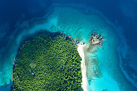 Peace Hill aerial<br /> St. John<br /> US Virgin Islands
