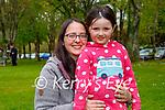 Enjoying the Killarney National park on Sunday, l to r: Fionnuala and Roisin Corcoran.