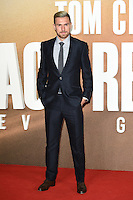 "Aaron Ramsey<br /> at the premiere of ""Jack Reacher: Never Go Back"" at the Cineworld Empire Leicester Square, London.<br /> <br /> <br /> ©Ash Knotek  D3185  20/10/2016"