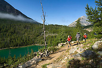 Taking the Highline to Assiniboine Provincial Park, BC, Canada