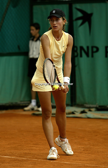 20030602, Paris, Tennis, Roland Garros, Bohmova