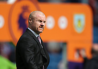29th August 2021; Turf Moor, Burnley, Lancashire, England; Premier League football, Burnley versus Leeds United: Burnley manager Sean Dyche walks to the dugout before the kick off