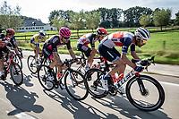 William Clarke (AUS/Trek-Segafredo) leading a group trying to force a break away<br /> <br /> Heistse Pijl 2020<br /> One Day Race: Heist-op-den-Berg > Heist-op-den-Berg 190km  (UCI 1.1)<br /> ©kramon