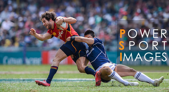 Japan vs Spain on Day 3 of the 2012 Cathay Pacific / HSBC Hong Kong Sevens at the Hong Kong Stadium in Hong Kong, China on 25th March 2012. Photo © Victor Fraile / The Power of Sport Images
